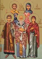 Sfintii Mucenici Carp, Papil, Agatodor si Agatonica