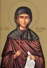 Sfanta Cuvioasa Melania Romana; Sfantul Mucenic Hermes