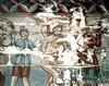 Biserica de lemn din Borza - Biciuirea lui Iisus