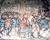 Biserica de lemn din Cublesu - Iisus in fata lui Irod