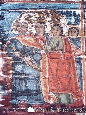 Biserica de lemn din Cuci - Prinderea lui Iisus