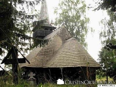 Biserica de lemn din Dangau Mic - Pogorarea Sfantului Duh (1674)