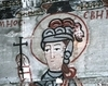 Biserica de lemn din Dangau Mic - Sfant militar