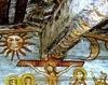 Biserica de lemn Sfantul Ilie din Cupseni - Rastignirea