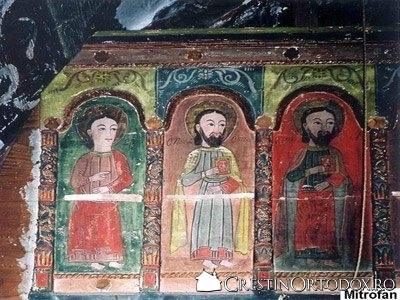 Biserica de lemn din Porumbeni - Apostoli