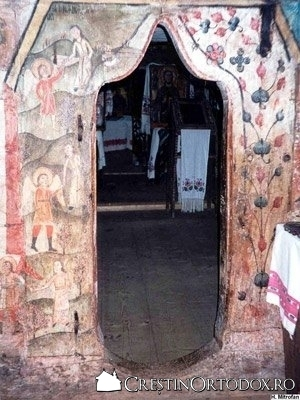 Biserica de lemn din Rogoz - Judecata de Apoi