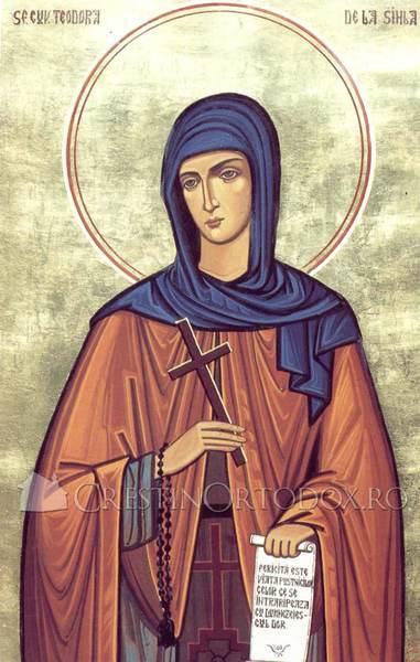 Acatistul Sfintei Teodora de la Sihla