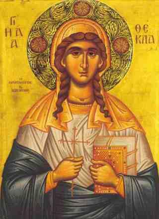 Acatistul Sfintei Tecla