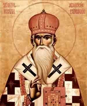 Acatistul Sfantului Atanasie din Constantinopol