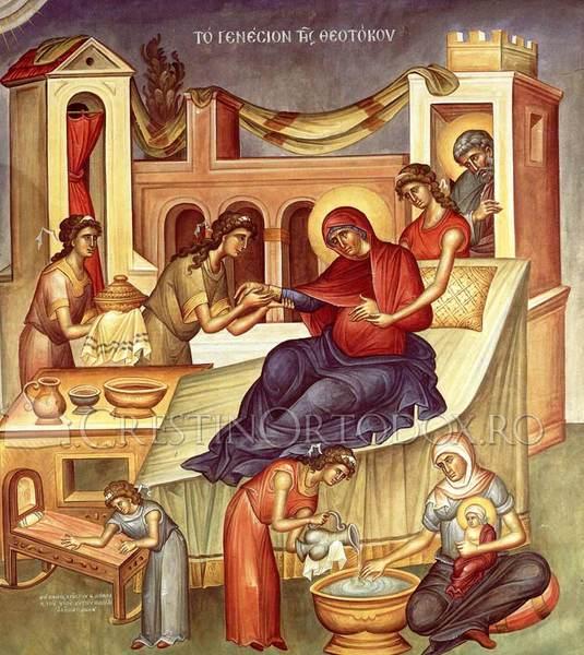 Acatistul Nasterii Maicii Domnului