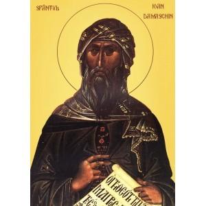 Sfantul Ioan Damaschin - Despre om