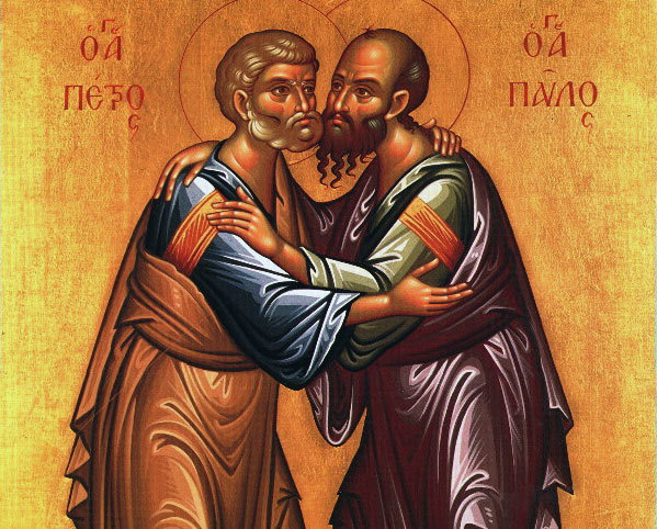 Image result for sfintii apostoli petru si pavel imagini