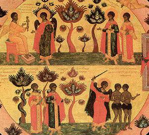 Pomul paradisiac in interpretarea Parintilor Bisericii
