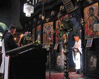 Sfintele Taine din Biserica si din afara ei