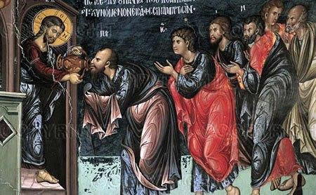 Savarsitorul si impartasirea cu Sfanta Euharistie