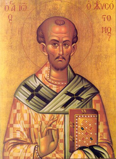 Sensul Sfintei Cruci in teologia Sfantului Ioan Gura de Aur