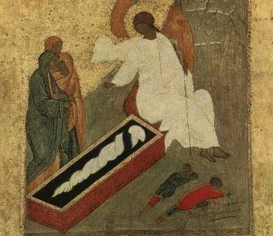 Pastele - eveniment al mormantului gol