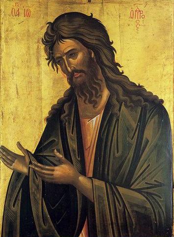 Pilda vietii Sfantului Ioan Botezatorul