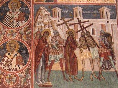 Manastirea Voronet - Drumul Crucii