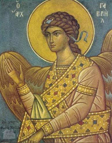 Rugaciune catre Sfantul Arhanghel Gavriil