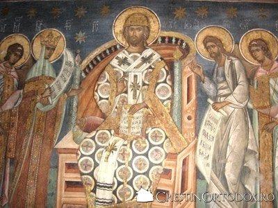 Manastirea Voronet - Deisis