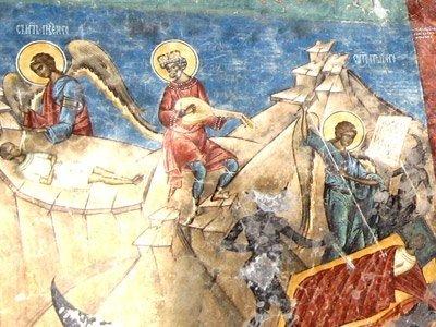 Manastirea Voronet - Judecata de Apoi (detaliu)