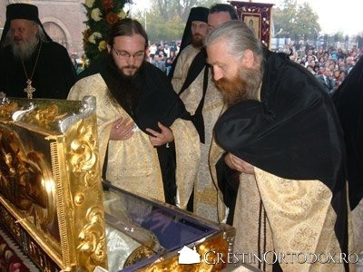 Pelerinaj la moastele Sfantului Dimitrie