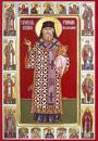 Sfantul Pahomie de la Gledin -  Slujbele  si  viata