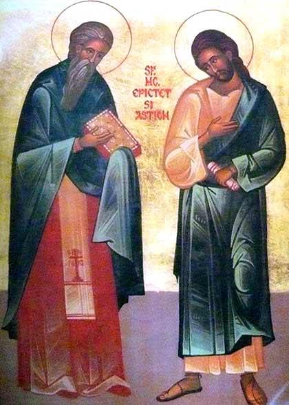 Sfintii Epictet si Astion