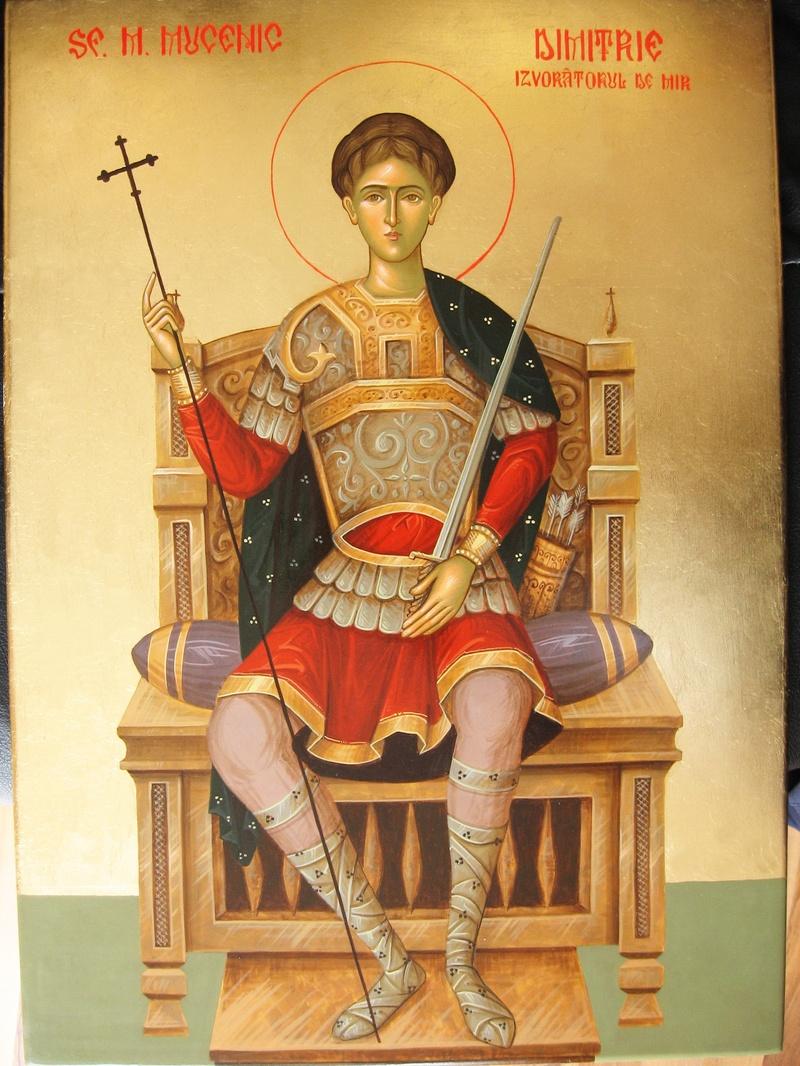 Dimitrie - Sfantul protector al armatelor