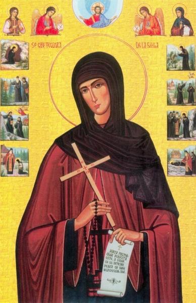 Viata Sfintei Teodora de la Sihla