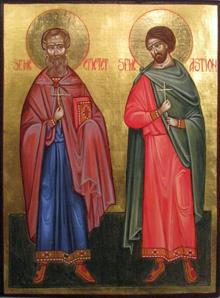 Sfintii Martiri Epictet si Astion din Halmyris