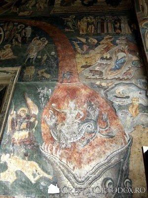 Manastirea Probota - Scrasnirea dintilor - Iadul