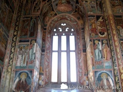 Manastirea Probota - Fereastra
