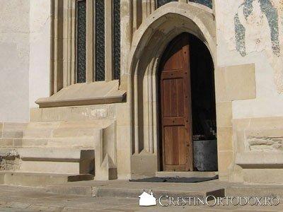 Manastirea Probota - Usa de intrare