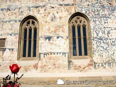 Manastirea Probota - Ferestre