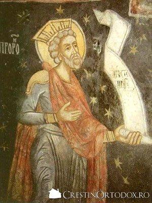 Manastirea Arnota - Sfantul Prooroc David