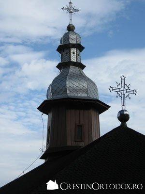 Schitul Sihla - Turla bisericii