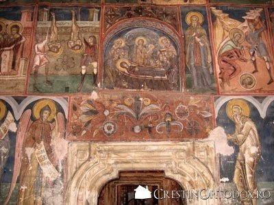Manastirea Humor - Pronaos