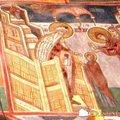 Manastirea Humor - Intrarea in Biserica a Maicii Domnului