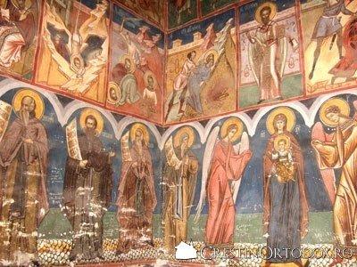 Manastirea Humor - Pridvorul