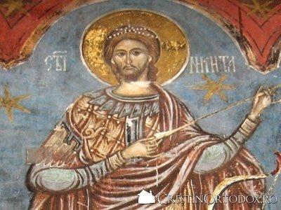 Manastirea Humor - Sfantul Nichita