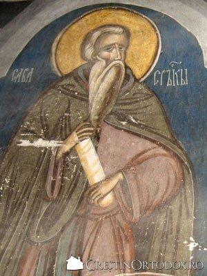 Manastirea Humor - Sfantul Sava cel Sfintit