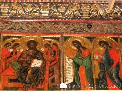 Manastirea Humor - Deisis si Sfintii Apostoli