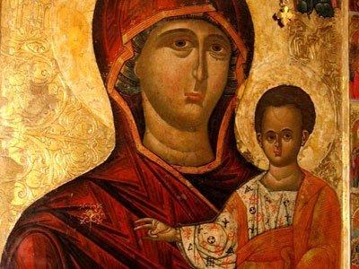 Manastirea Humor - Maica Domnului cu Pruncul