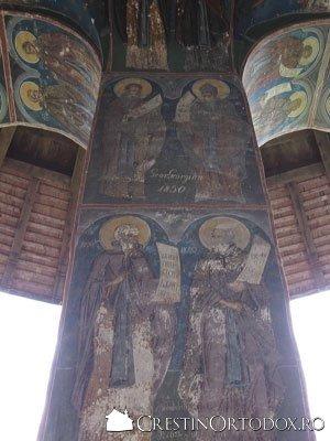Manastirea Humor - Pridvorul (arcade)