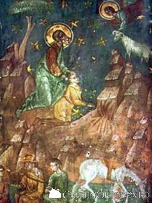 Manastirea Balinesti - Jertfa lui Avraam