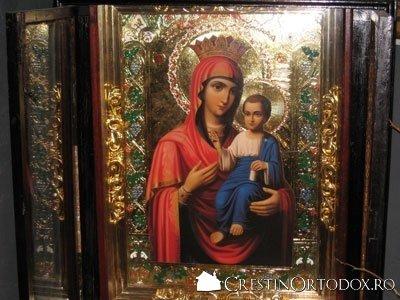Icoana Maica Domnului - Biserica Sfantul Vasile