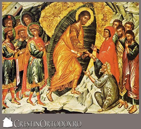 Hristos inviat din morti