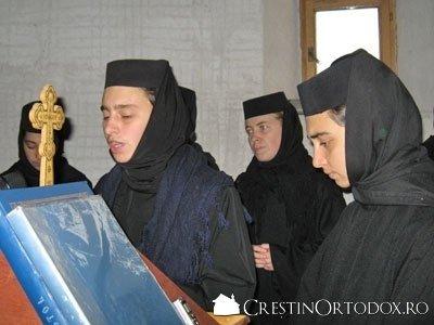 Paraclisul Manastirii Sfantul Gheorghe - Cor de maici